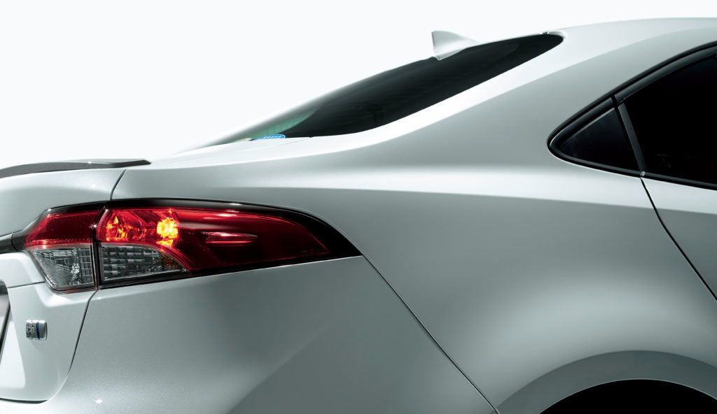 2020 Toyota Corolla tail lamp
