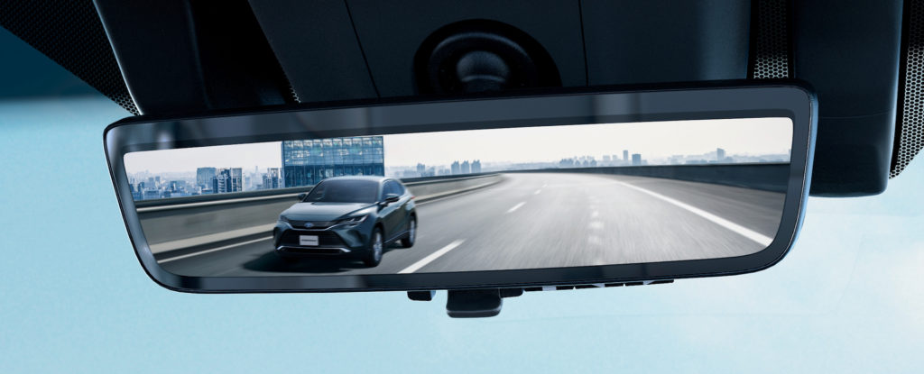 Toyota Harrier Digital Inner Mirror