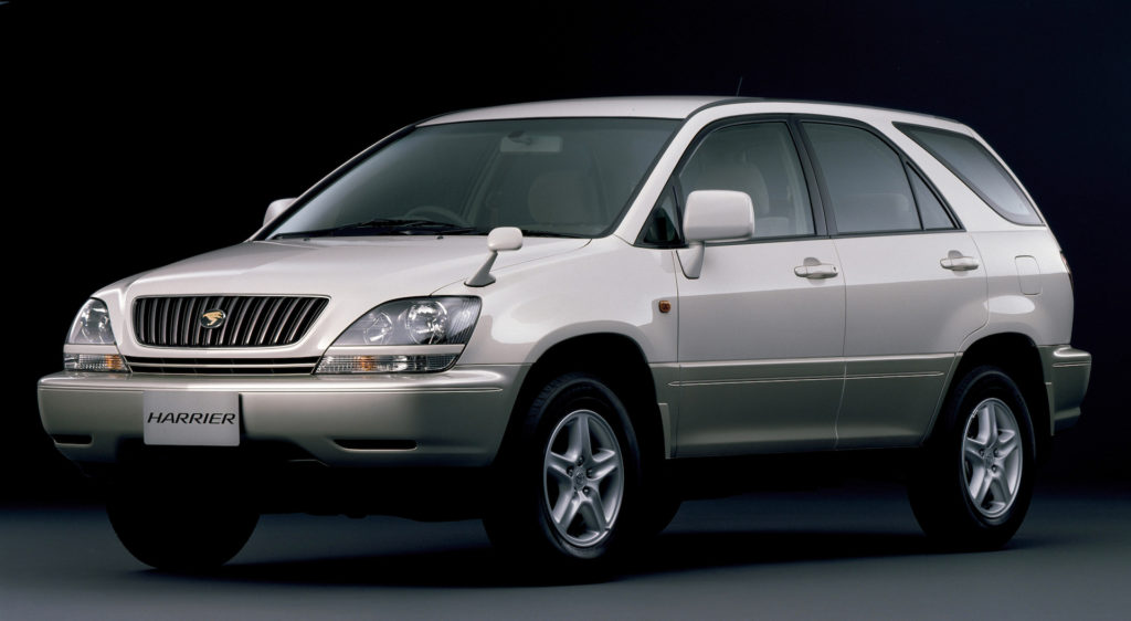 1st generation Toyota Harrier, 1997