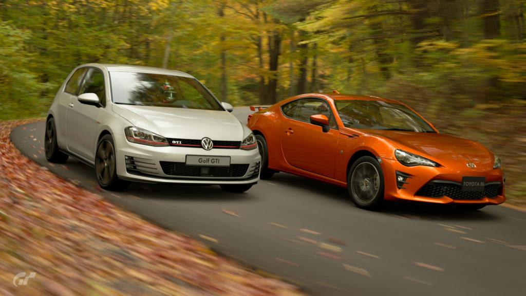 Front-Wheel Drive VW Golf GTI vs Rear-Wheel Drive Toyota GT86