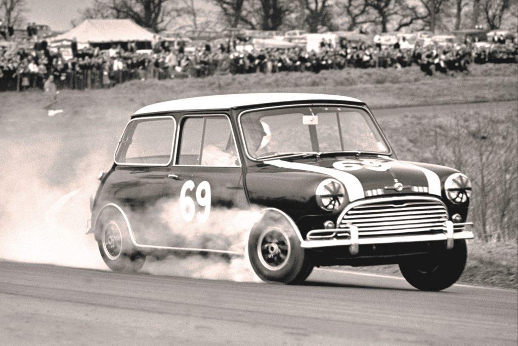Classic Mini Cooper front wheelspin, AutoApp