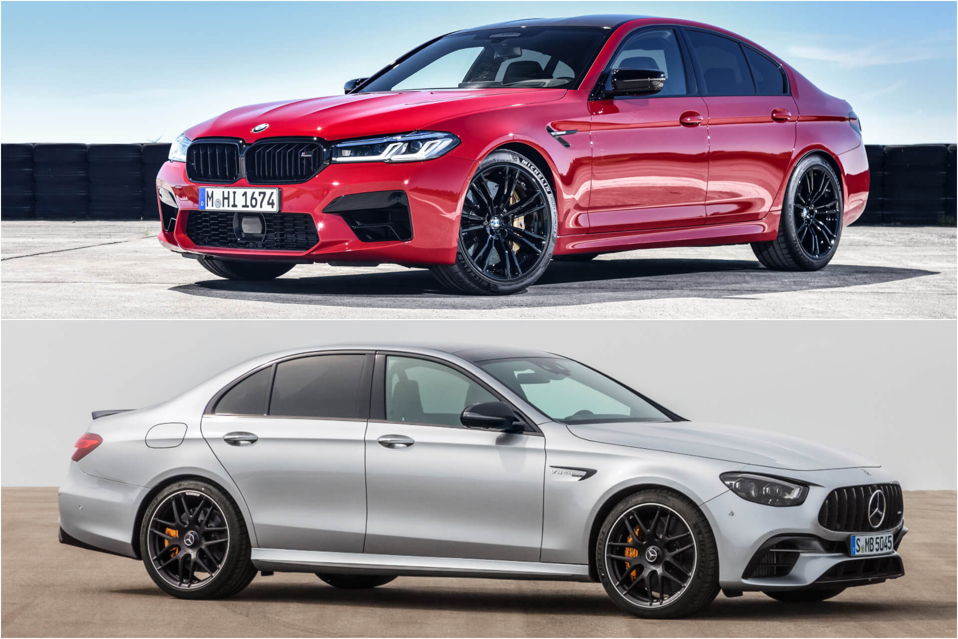 BMW M5 v Mercedes-AMG E 63: Facelifts for Germany's most famous über-saloons