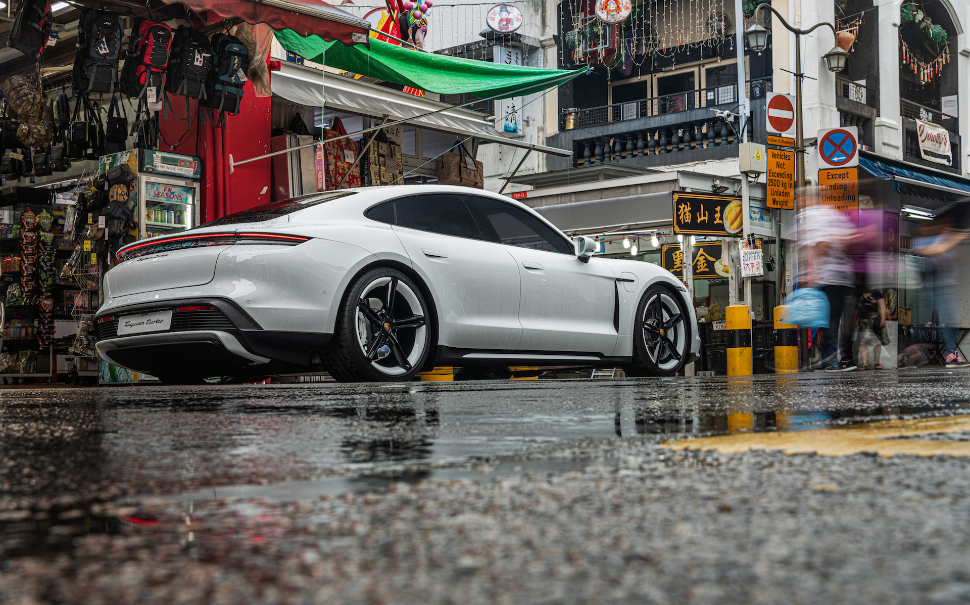 PORSCHE TAYCAN: Now officially launched in Singapore
