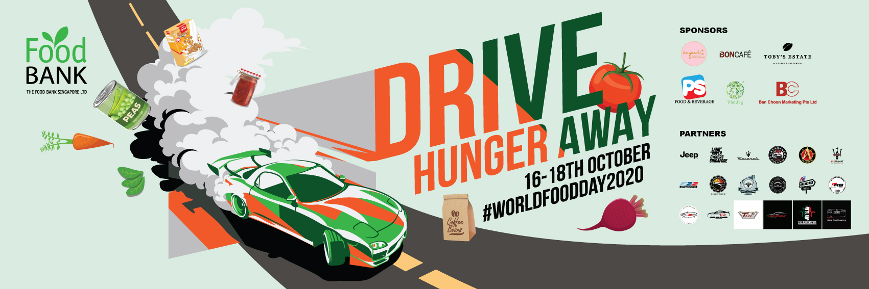 DRIVE AWAY HUNGER: 18 car clubs rallying for World Food Day 2020
