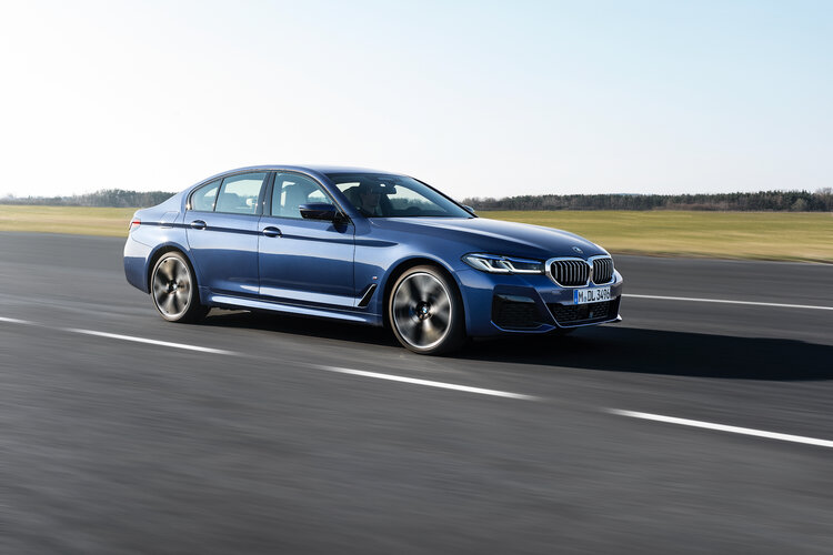 New BMW 5 Series sedan