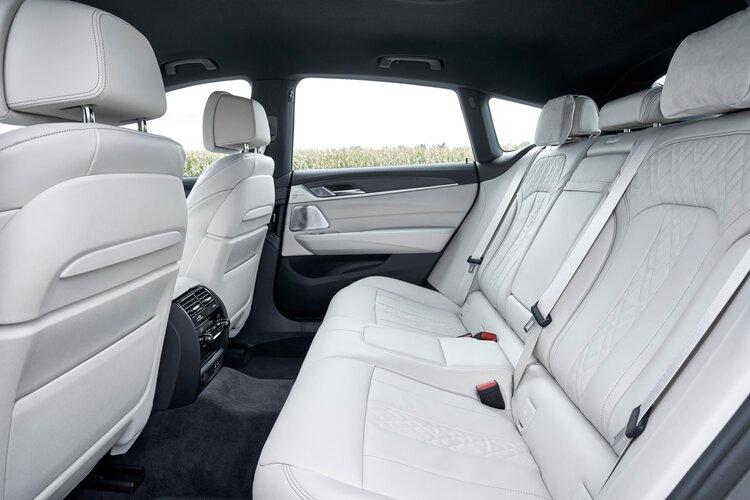 BMW 6 Series Gran Turismo rear seats