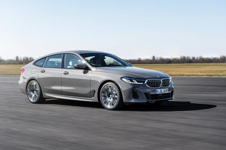 New BMW 6 Series Gran Turismo fastback
