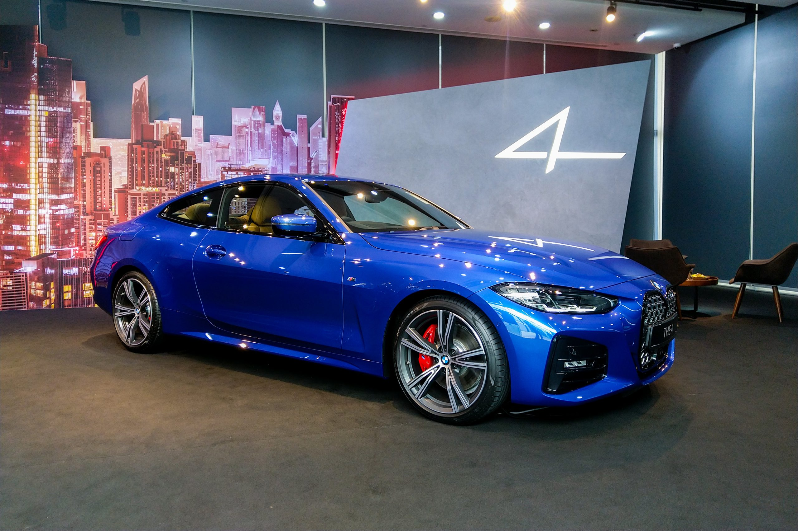 NEW BMW 4 SERIES: Nosing into Singapore at S$219k