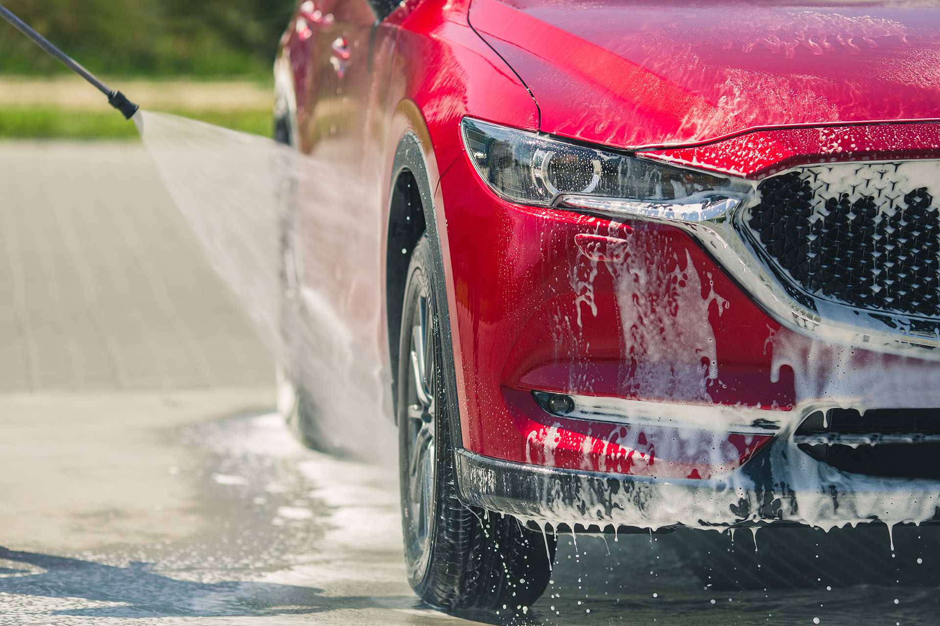 AT THE CAR WASH: Great places to get your car cleaned up