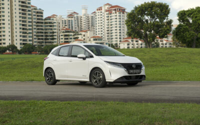 Nissan Note e-Power: charger included