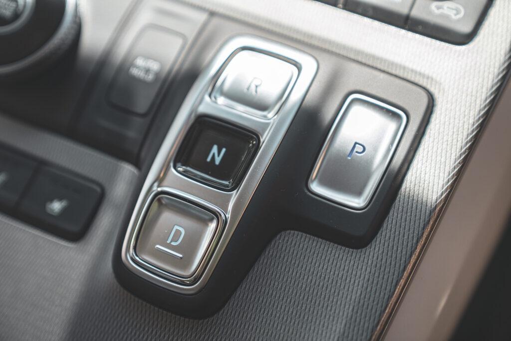 Hyundai Palisade right-hand drive gear selector