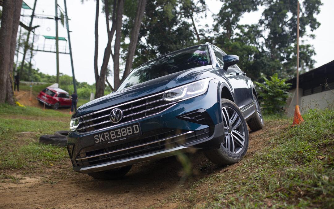 GOING OFF-ROAD: The new Volkswagen Tiguan